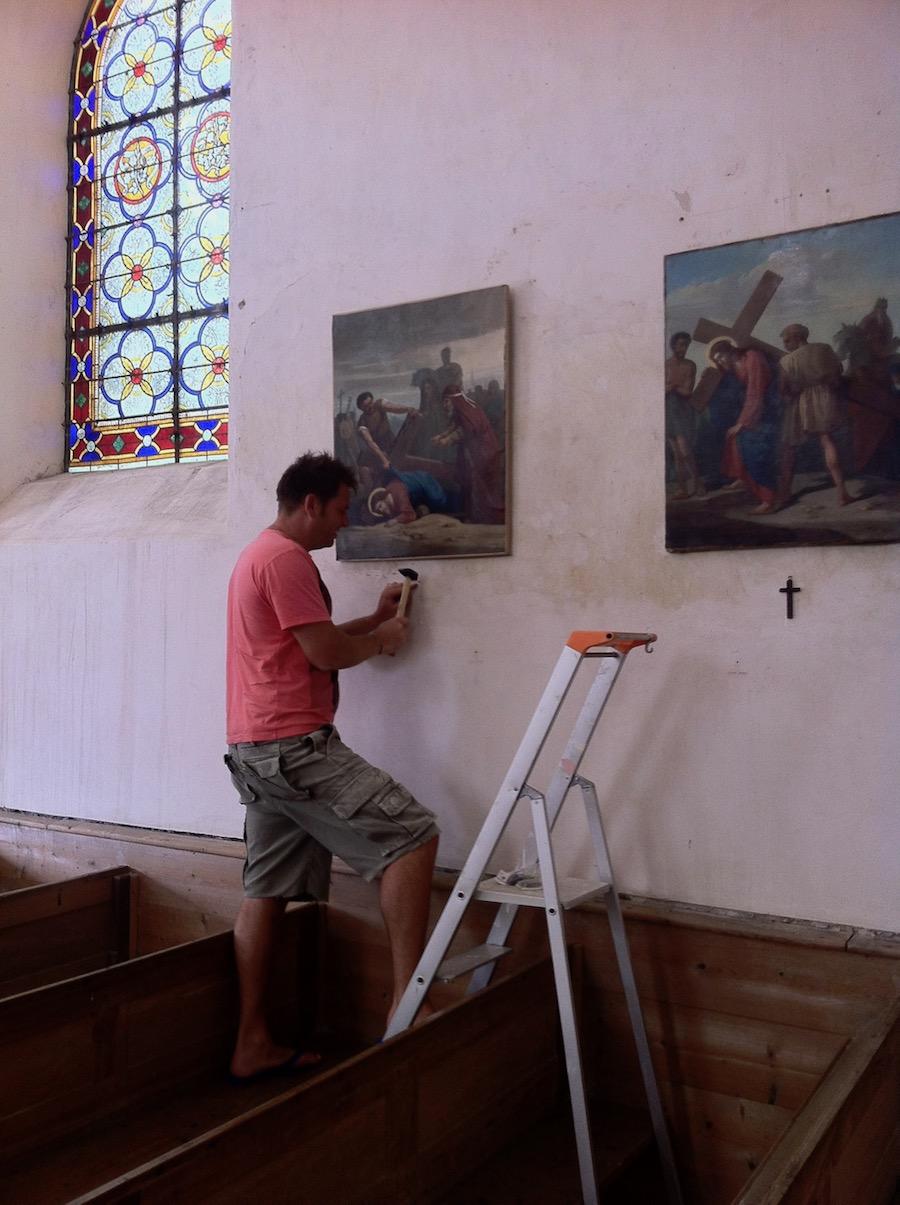Entretien Eglise La Motte Tilly