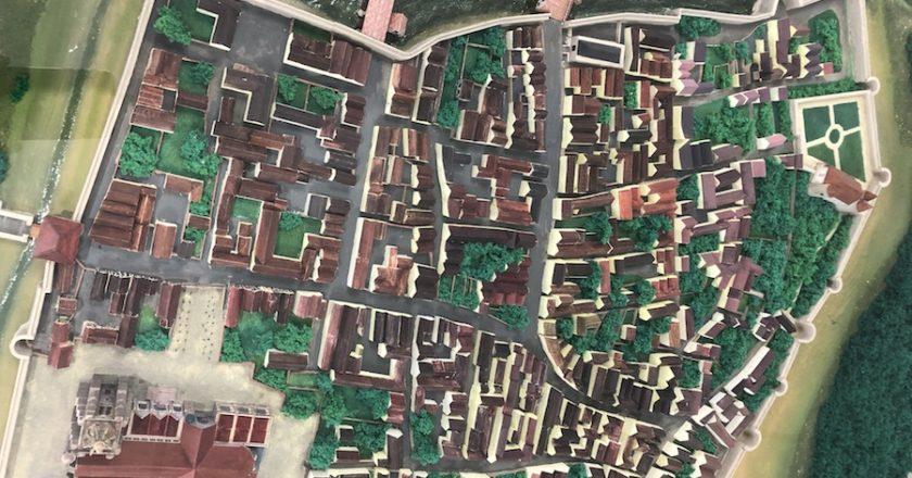Maquette ville de Nogent