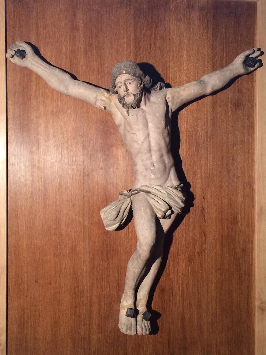 Christ en bois 17e