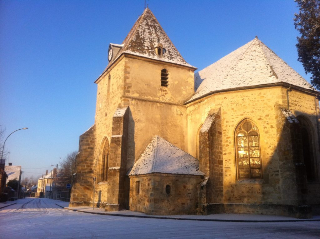 Eglise de La Motte Tilly