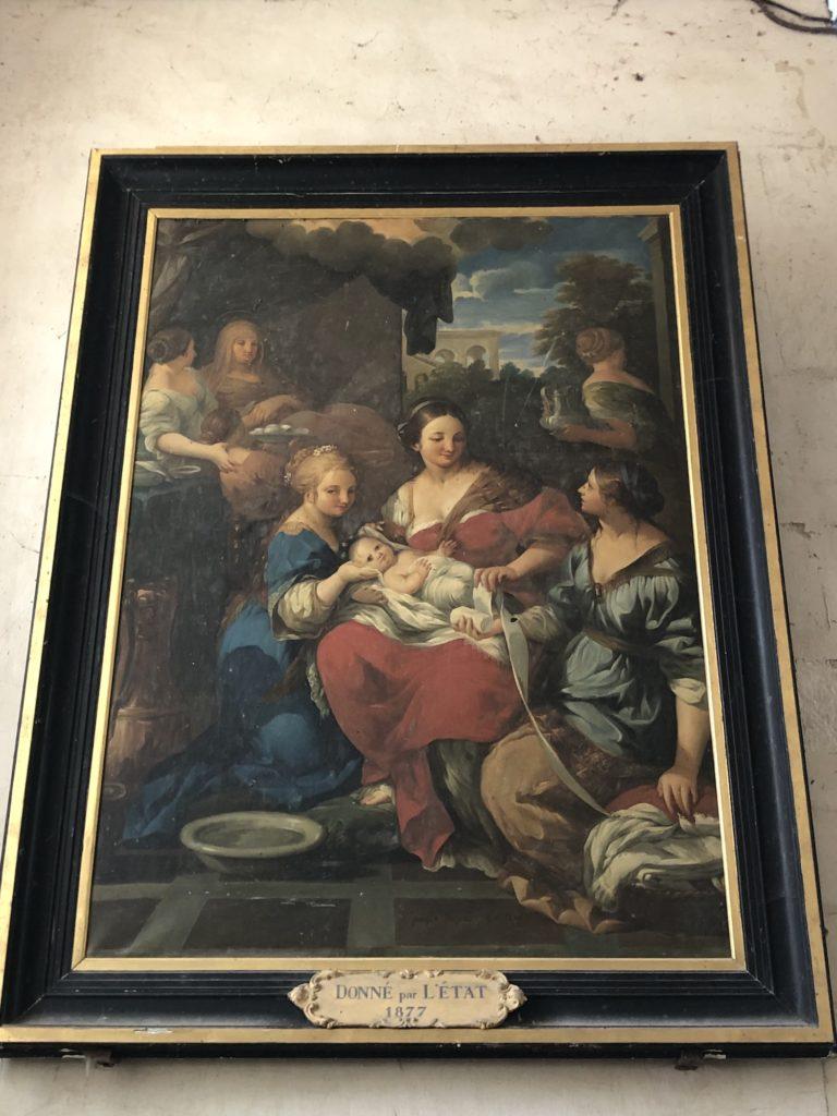 La nativité de la Vierge