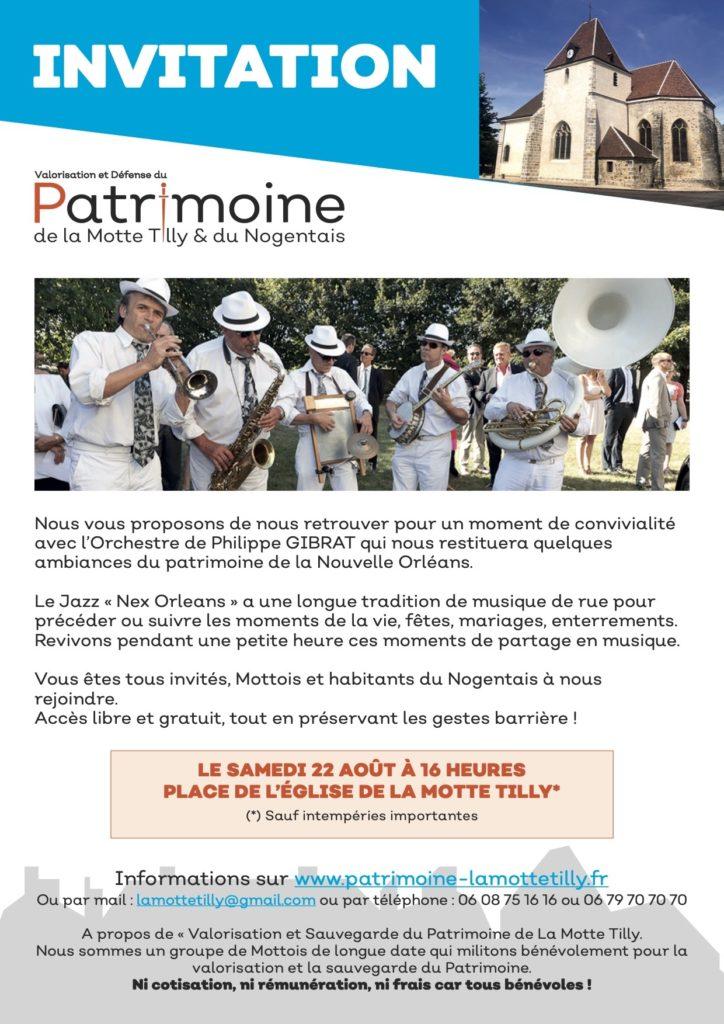 Jazz Band Ball à La Motte Tilly