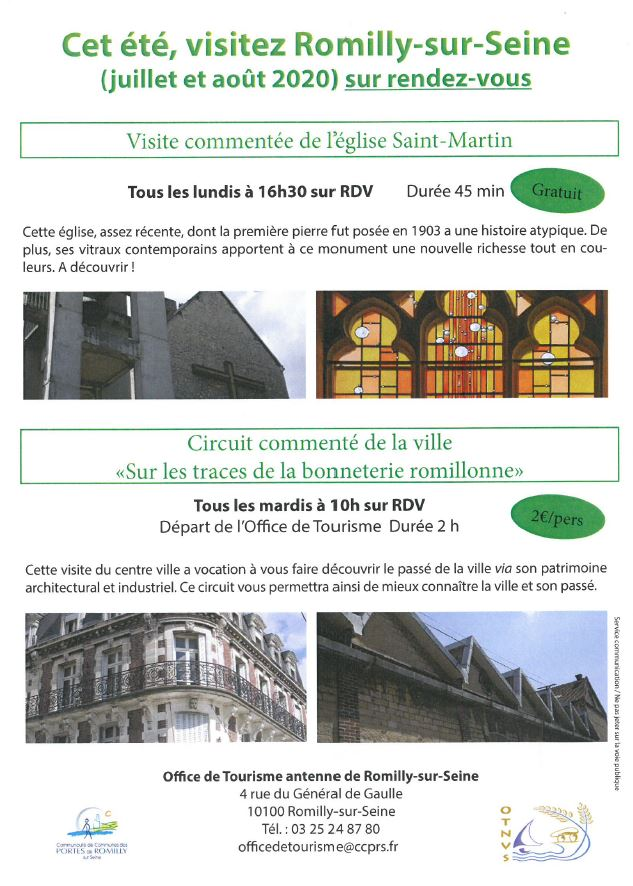 Visite à Romilly