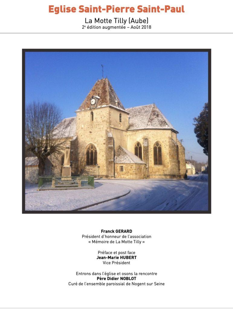 Eglise saint pierre et saint Paul la motte Tilly