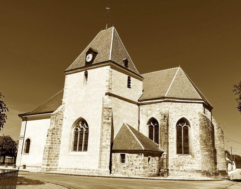 église de la Motte Tilly