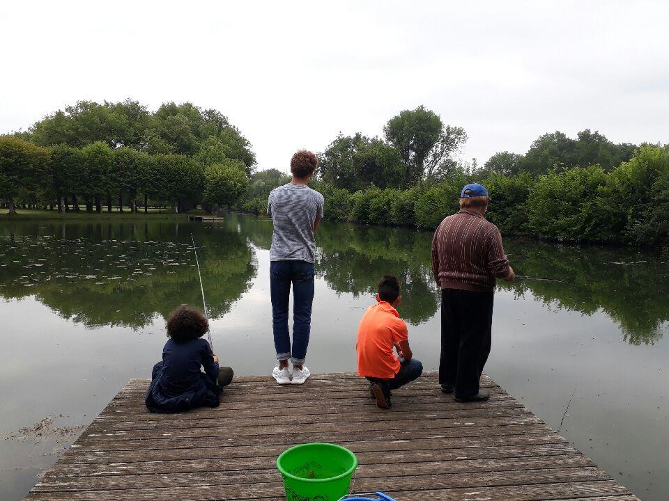 Pêche au château de La Motte Tilly